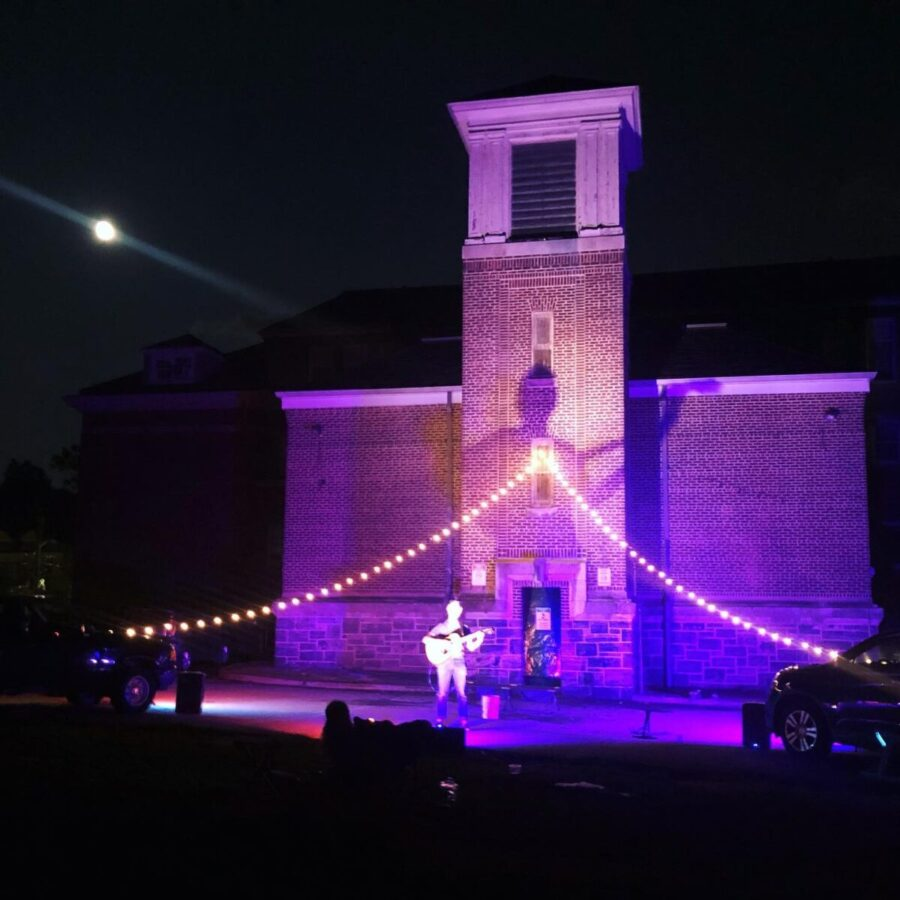 Irvington's Main Street School parking lot becomes an open-air theater stage from July 23-25